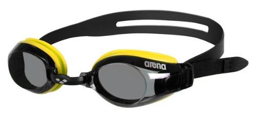 Arena gafas de natación Zoom x-Fit Amarillo/gris/ - Negro