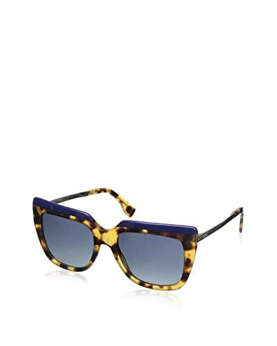 Fendi Women's 0087/S Sunglasses, Blue Havana Gold