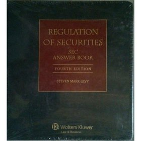 Regulation of Securities: Sec Answer Book