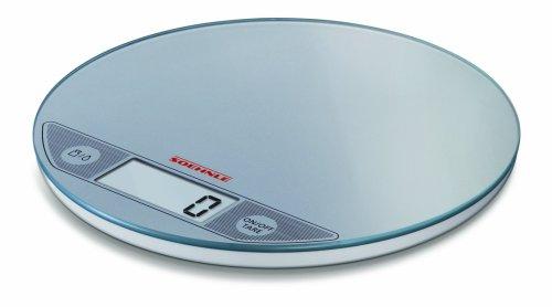 Soehnle 66161 Bilancia da Cucina Digitale Slim Flip Argento