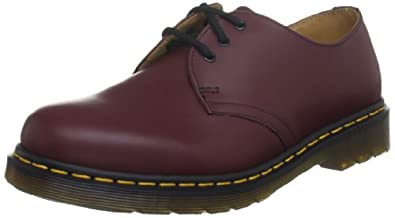 Dr. Martens 1461 59, Chaussures montantes adulte - Rouge (Cherry Red Smooth), 36 EU (3 UK)