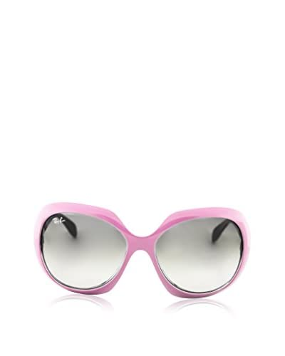 Ray Ban RB4208 Sunglasses, Pink/Grey Gradient