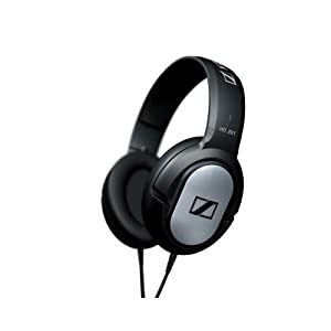 $14.99 Sennheiser HD201 Lightweight Over-Ear Binaural Headphones