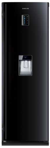 Samsung RR82PBBB Single Door Tall Larder Fridge with Stored Water Dispenser Black