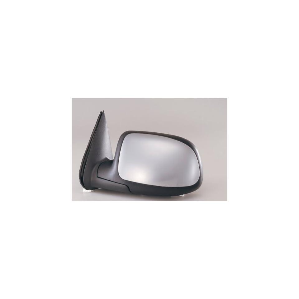 KAP GM1320174 New Chevrolet & GMC Trucks   1500, 2500, 3500 Driver Side Mirror Electric Power Chrome Left Door Replacement