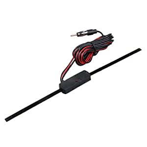 Vktech Antenne voiture non direction autoradio universel FM
