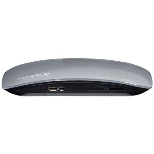 31iHkkcva%2BL. SL500  Verbatim USB 3.0 Universal Card Reader, Black 97706