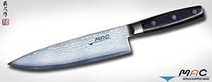 mac knife damascus chef s knife 8 inch
