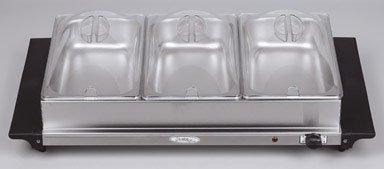 Cheap BroilKing Triple Buffet Server – Stainless Steel (TBS-3SP)