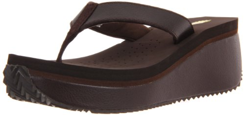 Volatile Women'S Frappacino Thong,Brown,9 M front-566751