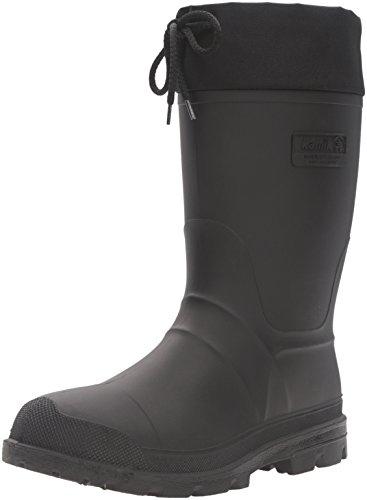 kamik Icebreaker Uomini Stivali di gomma nera X B20706W BLK, Herren - Schuhe - Stiefel & Boots / 11498:46