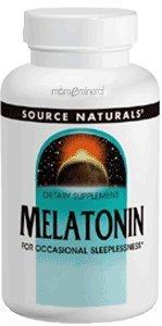 Source Naturals - Melatonin Sublingual Orange 1 mg. - 100 Ta
