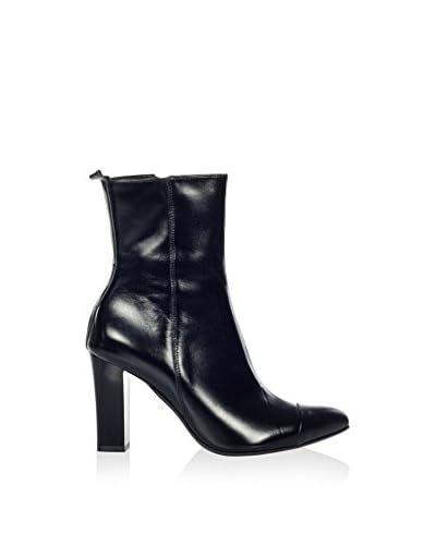 Joana & Paola Zapatos abotinados Jp-Gn-236-1Cz Negro