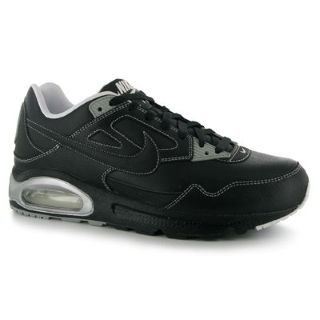 Nike Air Max Skyline Leather Trainers Mens Black/White 11 UK UK