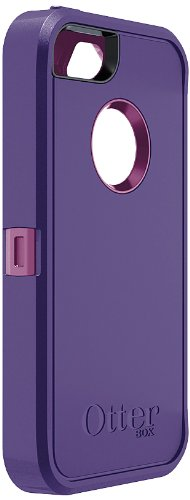 OtterBox Defender Series Case for iPhone 5 - Retail Packaging - Boom Purple