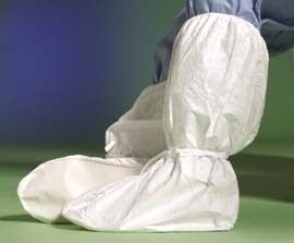 DuPont Tyvek Boot Covers IC446SWHLG0C Clean Processed With Ankle
