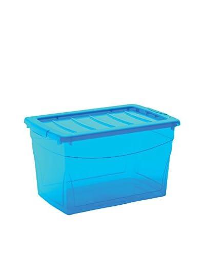 Kis Set Contenitore Organizzazione Spazi 6 pezzi Omnibox M Azzurro