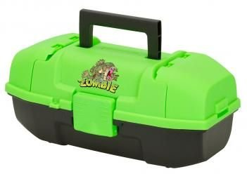 Frabill Plano Youth Zombie Fish Tackle Box, Neon Green/Black (Zombie Fishing compare prices)