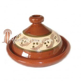 Large Beldi Moroccan Tagine - 20 Cm from Medina Souvenirs