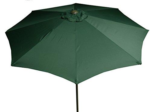 beo Sonnenschirme wasserabweisend ohne Standfuß Sonnenschutz, rund, Durchmesser 270 cm, grün