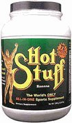 Hot Stuff All-In-One Sports Supplement, Chocolate, 3.22-Pound Plastic Jar