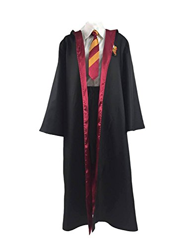 Phyllis Olmos Fashion Womens Cosplay Costume School Uniform Halloween Robe (US Female S) (Hogwarts School Uniform)