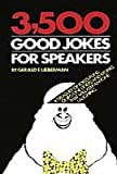 img - for 3,500 Good Jokes for Speakers book / textbook / text book