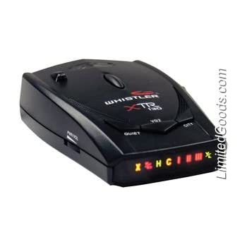 Whistler Xtr-130 Radar/laser Detector With Super-bright Icon DisplayAmazon.com Product Description Whistler's XTR-130 laser/radar detector is as affordable as it is full-featured. With total band protection from radar signals, 360-degree laser detect...