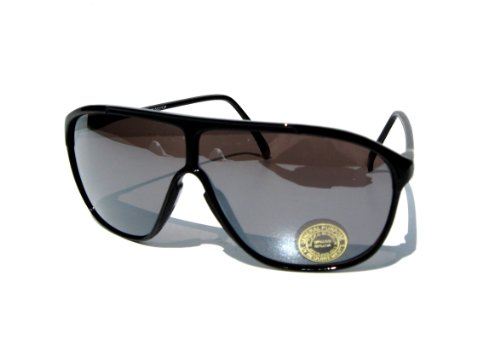 Rockin' Cool Black Mirrored Aviator Sunglasses