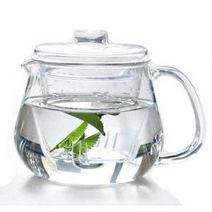 Heat-resistant Borosilicate Glass Teapot 600ml with Infuser Microwave & Dishwasher safe! (Glass teapot 600ml, clear) (Microwave Safe Tea Infuser compare prices)