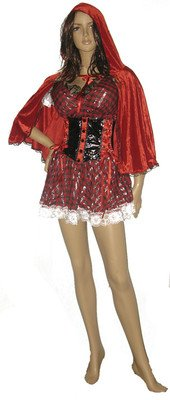 Little Red Riding Hood Costume Sexy Womens Little Red Riding Hood Halloween M