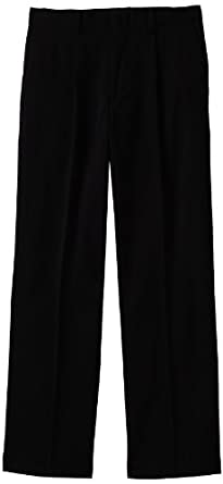Izod Kids Boys 8-20 Husky Dress Pant, Black, 12H