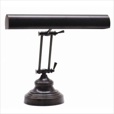 Adjustable Bronze Finish Piano Lamp