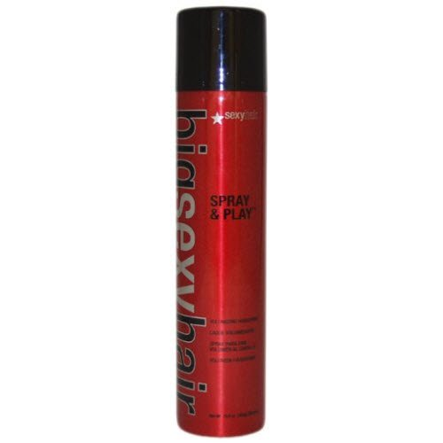 Big Sexy Spray & Play Hair Spray Regular by Sexy Hair for Unisex - 10 Ounce Hair Spray