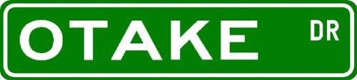 OTAKE Street Sign ~ Personalized Family Lastname Novelty Sign ~ Gameroom, Basement, Garage Sign ** Aluminum 4 x 18 - Buy OTAKE Street Sign ~ Personalized Family Lastname Novelty Sign ~ Gameroom, Basement, Garage Sign ** Aluminum 4 x 18 - Purchase OTAKE Street Sign ~ Personalized Family Lastname Novelty Sign ~ Gameroom, Basement, Garage Sign ** Aluminum 4 x 18 (The Lizton Sign Shop, Home & Garden,Categories,Patio Lawn & Garden,Outdoor Decor)
