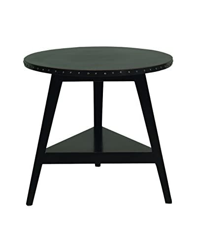 City Scape Accents Cricket Table, Distress Black