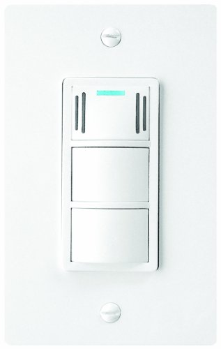 Dewstop Fs-200 Condensation Control Sentry Fan And Light Switch, White