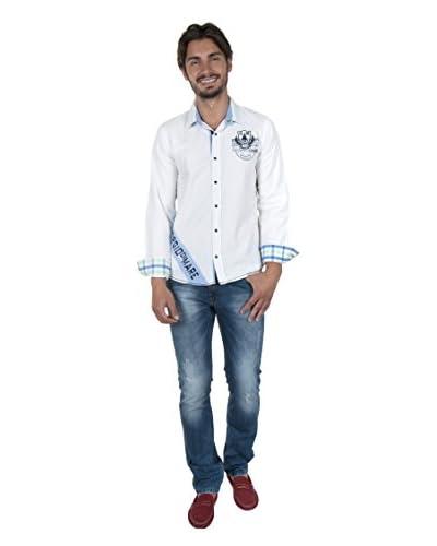 Giorgio di Mare Camicia Uomo Worked Gunnar [Bianco]