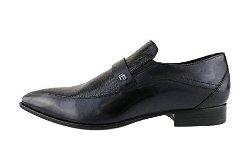 CARLO PIGNATELLI classiche uomo nero vernice pelle lucida AH738 (39 EU)