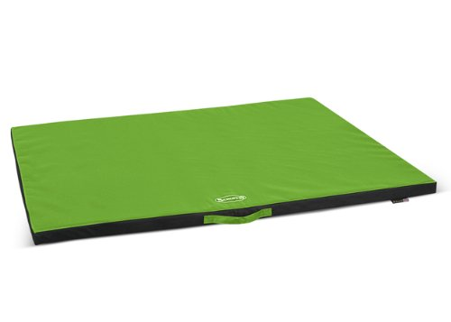 Scruffs Expedition Water Resistant Pet Mat, X-Large, Lime front-1068576