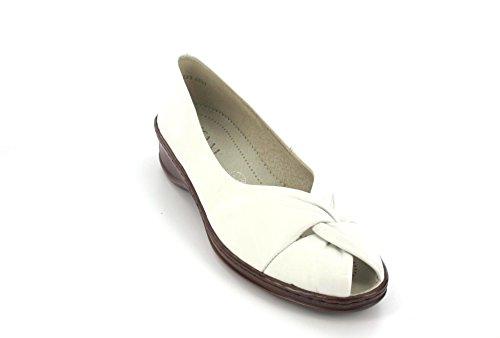 Jenny by ara, Scarpe peep toe donna, Bianco (bianco), 38
