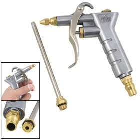Amico Silver Tone Duster Cleaning Tool Nozzle Air Blow Gun