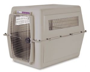 Petmate Ultra Vari Kennel, For Pets 90-125 Pounds, Bleached Linen