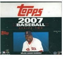 2007 Topps Baseball Series 2 Factory Sealed Retail 24 Pack Box !