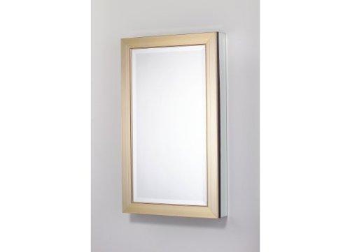 Robern Mp24D4Mdmgre Gold Framed Cabinet front-808663