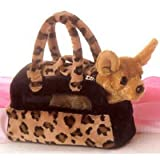 "AURORA CHIHUAHUA Fancy Pals Pet Carrier - Purse w/ 8"" Plush"
