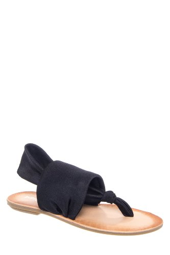 Dirty Laundry Beebop Flat Fabric Thong Sandal