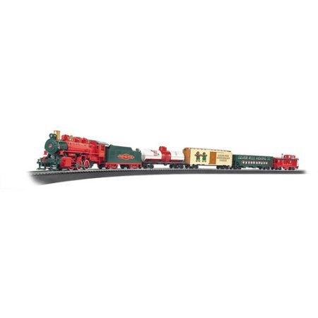 Bachmann Trains Jingle Bell Express HO Scale Ready-to-Run Electric