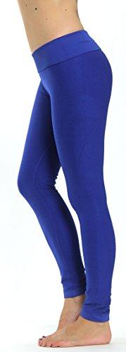 Prolific Health High Compression Women Pants Yoga Fitness Leggings (Small/Medium, Royal Blue)