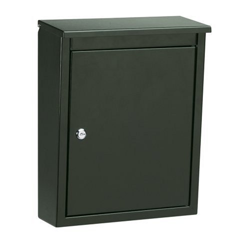Architectural Mailboxes Soho Wall Mailbox, Black